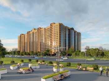 16-этажный монолитно-кирпичный жилой дом